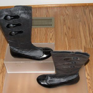 JUMP Bjork Black Mid-Calf Boots Size 8